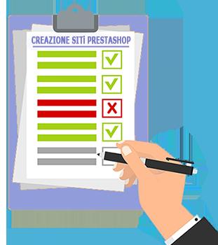 Lista Creazione Siti PrestaShop
